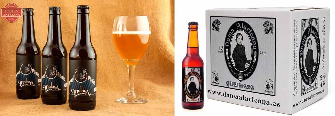 Las cervezas artesanas Kernel Panic y Queimada contienen lúpulo citra
