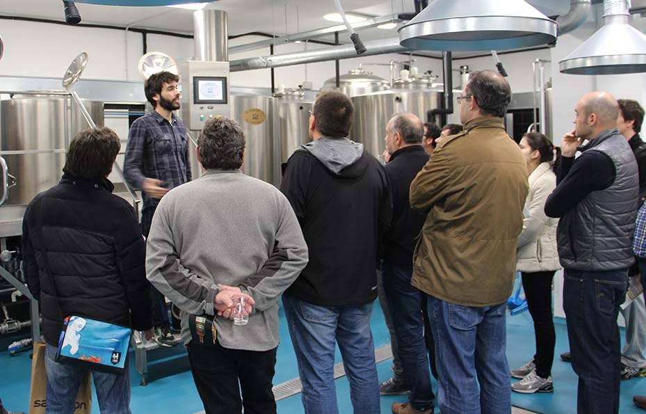 Visita a las instalaciones del Instituto de la Cerveza Artesana