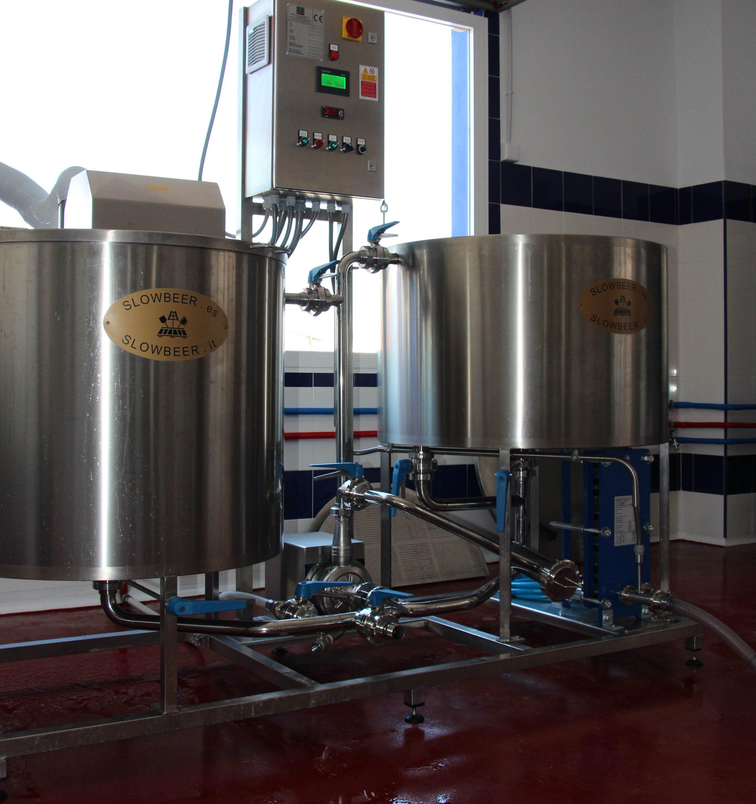 Nuevas Salas de Cocción Slow Beer 250, 500,1000, 2000 litros