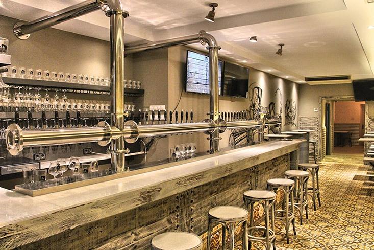 El Gastrobrewpub Abirradero, alta gastronomía de cerveza artesana en Barcelona
