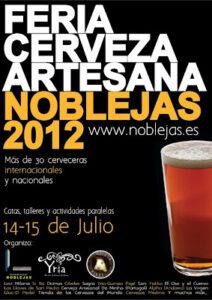 Lee más sobre el artículo Feria de Cerveza Artesana en Noblejas (Toledo)