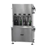 Embotelladora isobárica semiautomática 4 caños