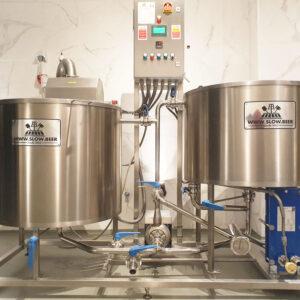 Sala de cocción SlowBeer 250 – 500 Litros