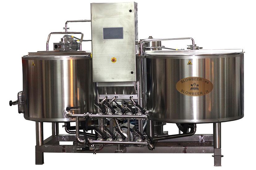 Nuevas micro-cervecerías Slowbeer 500 Plus
