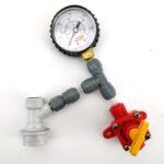 Kit válvula de purgado con manómetro – Conector Jolly