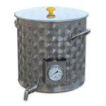 Olla Inox 50lt con grifo y termómetro