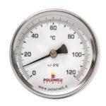 Termómetro Inox 0-120º