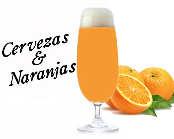 Elaborando cervezas con naranja