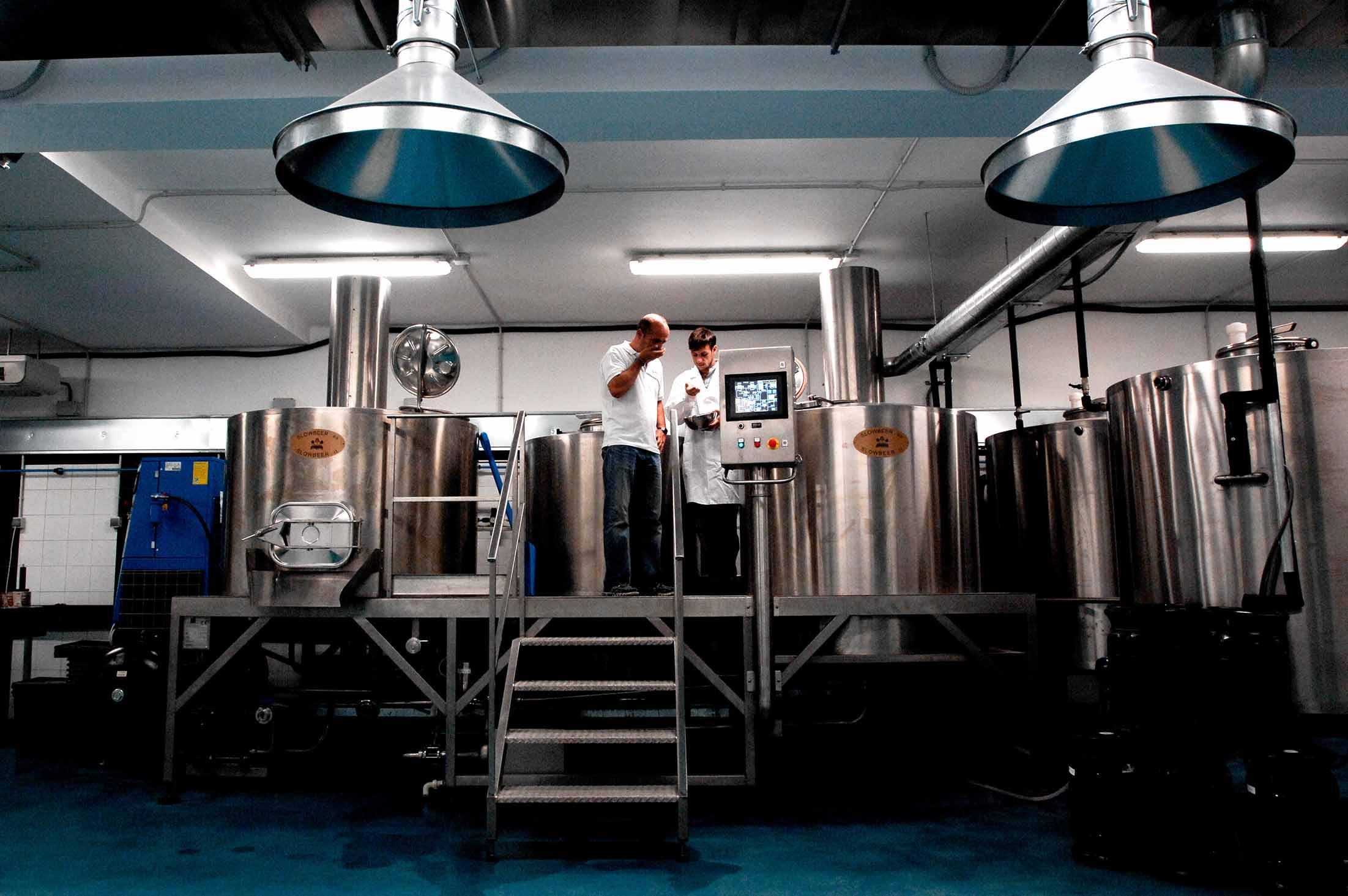 Jornada de puertas abiertas en el Instituto de la Cerveza Artesana